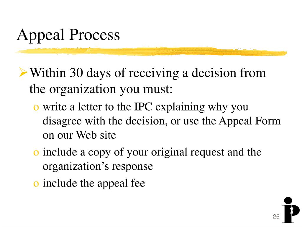 Appeal Process