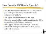 how does the ipc handle appeals