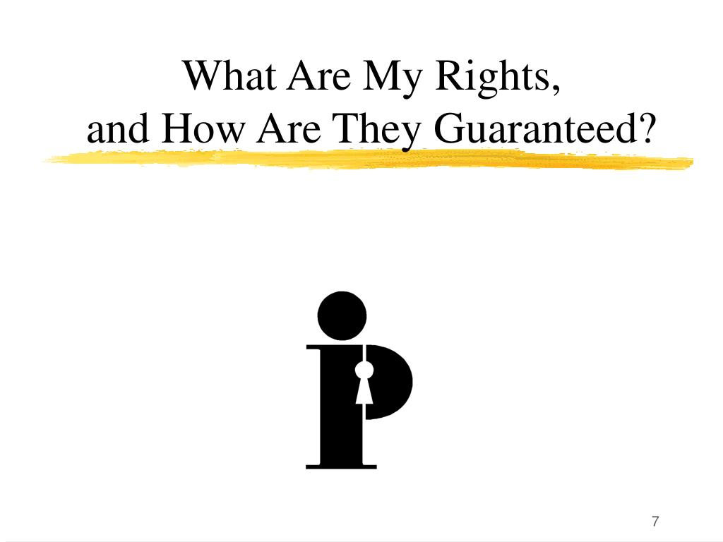 What Are My Rights,