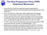 the new progressive party pnp statehood movement