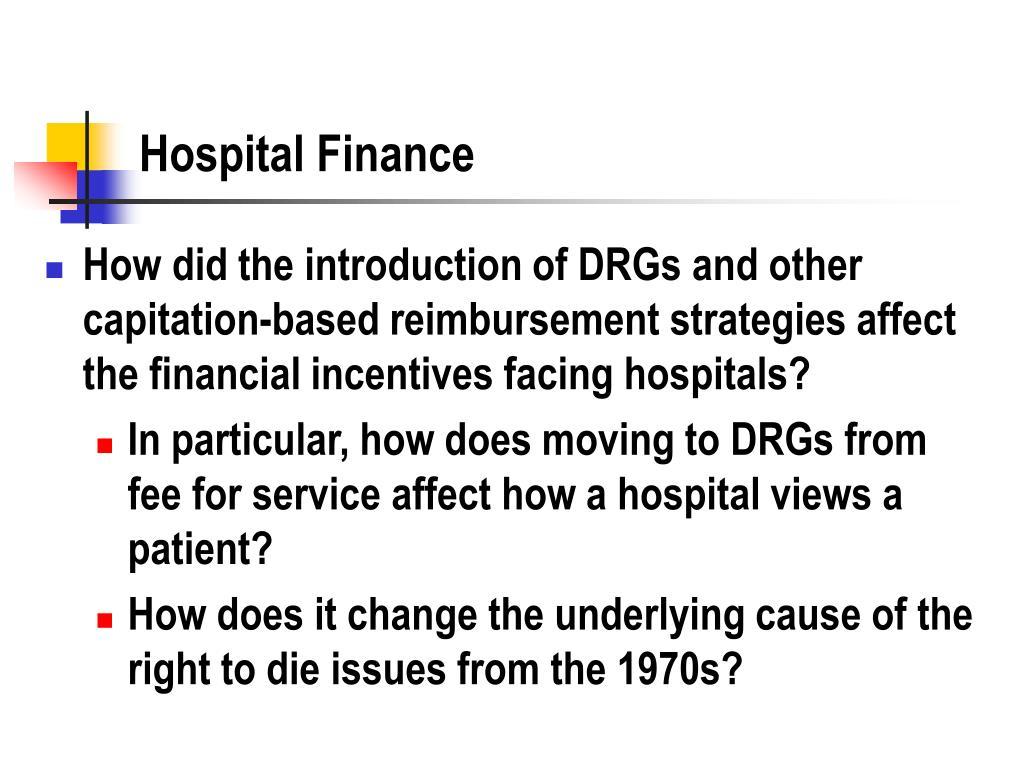 Hospital Finance