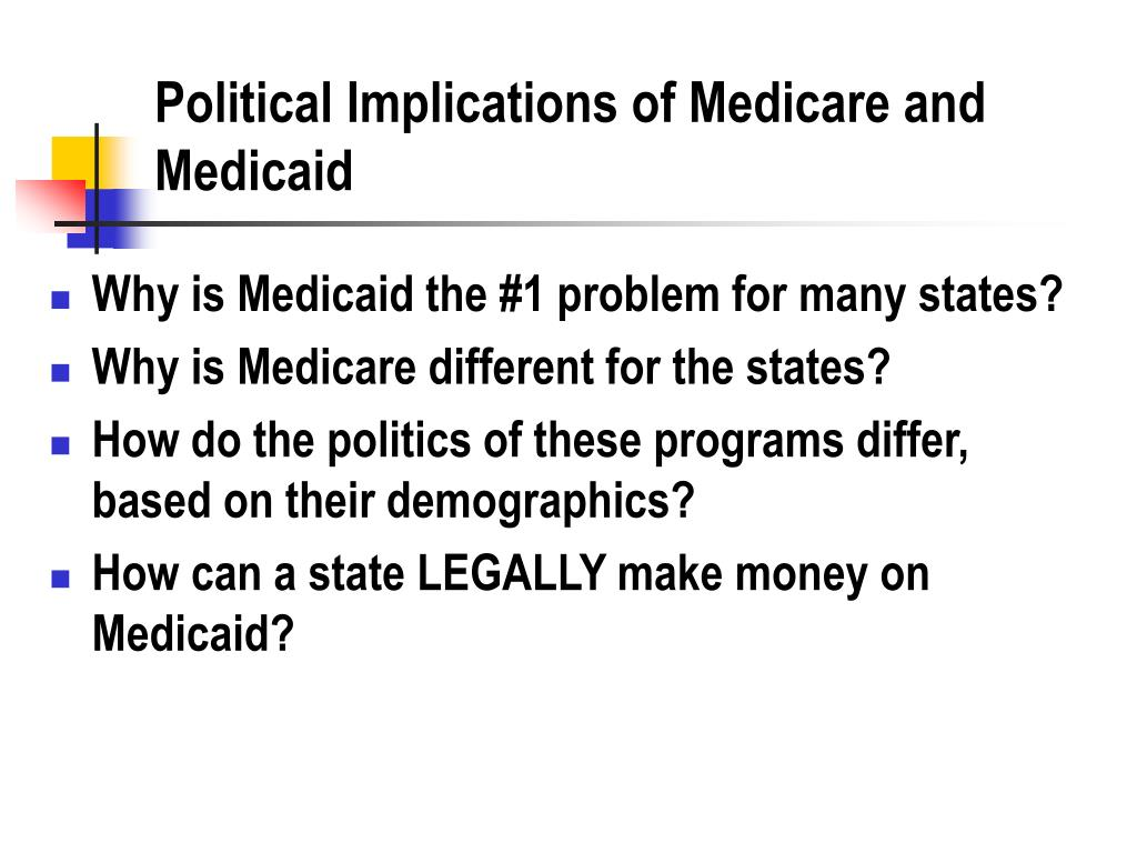 Political Implications of Medicare and Medicaid