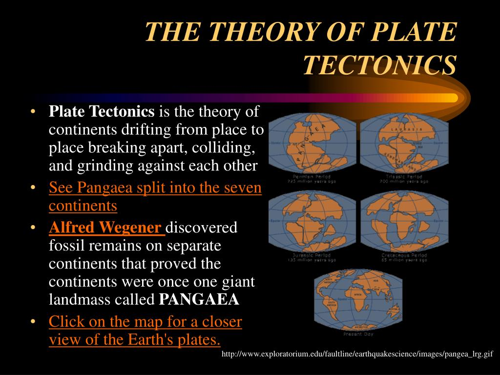 The Changing Earth A Science Lesson For 5th Grade on The Seven Continents Ppt Presentation