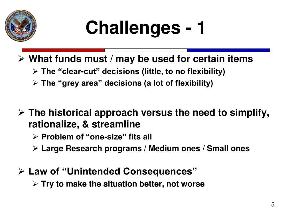 Challenges - 1
