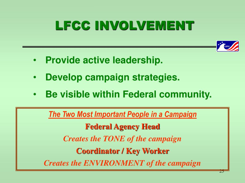 LFCC INVOLVEMENT