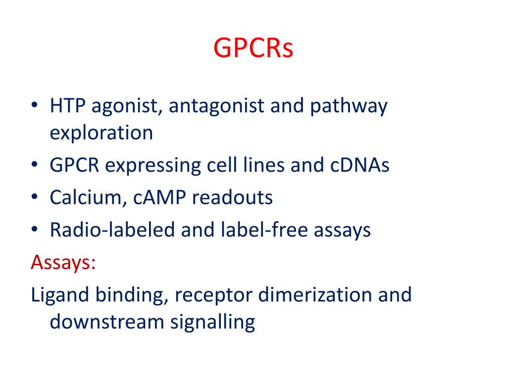 GPCRs