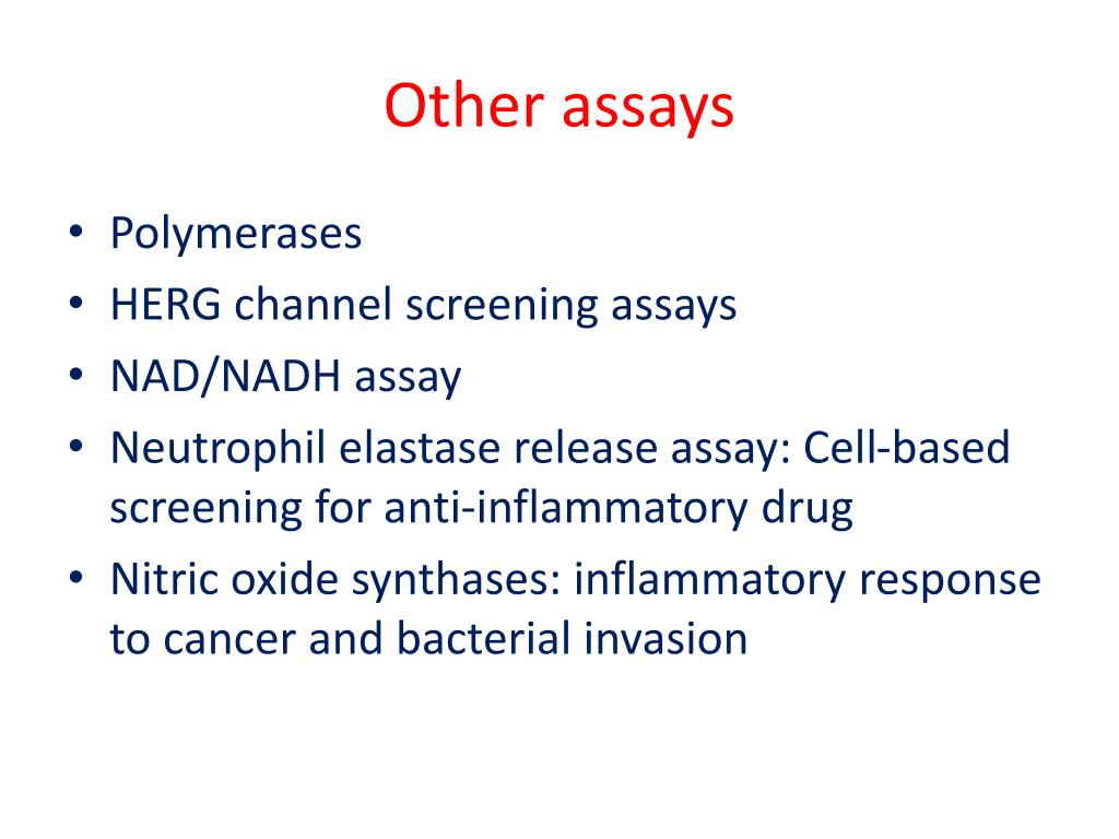 Other assays