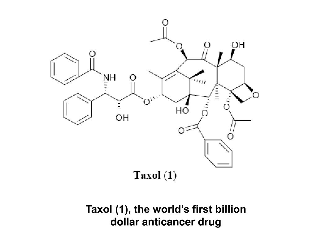 Taxol (1), the world's first billion