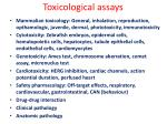 toxicological assays