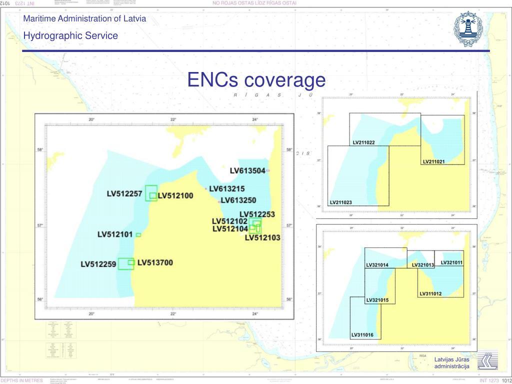 ENCs coverage