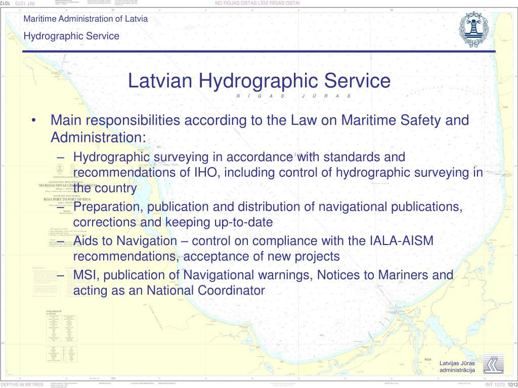 Latvian Hydrographic Service