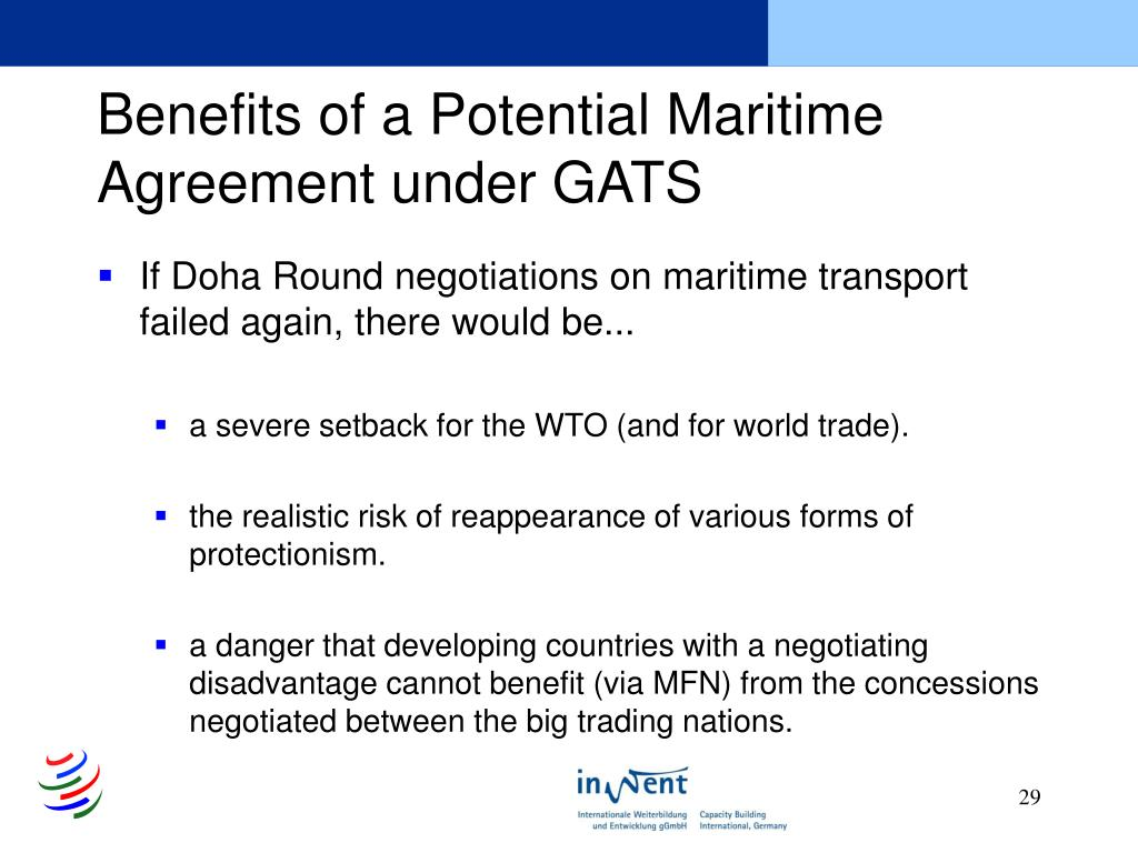 Benefits of a Potential Maritime Agreement under GATS