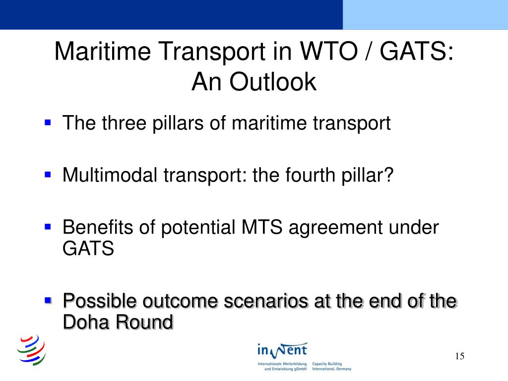 Maritime Transport in WTO / GATS: