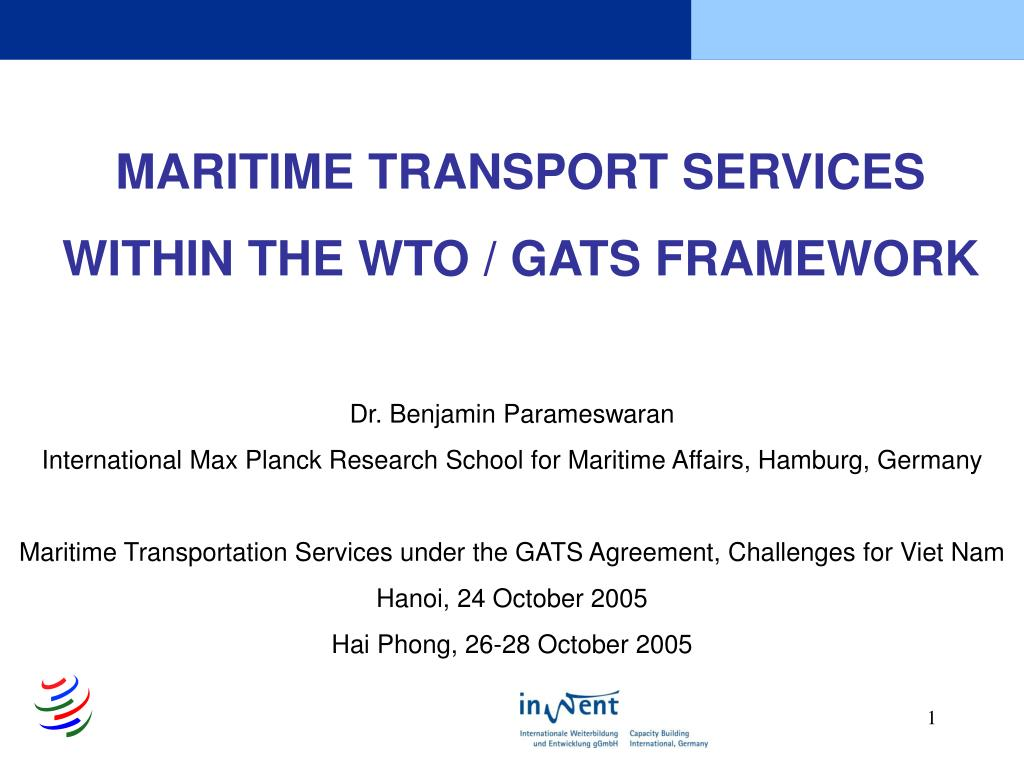 MARITIME TRANSPORT SERVICES
