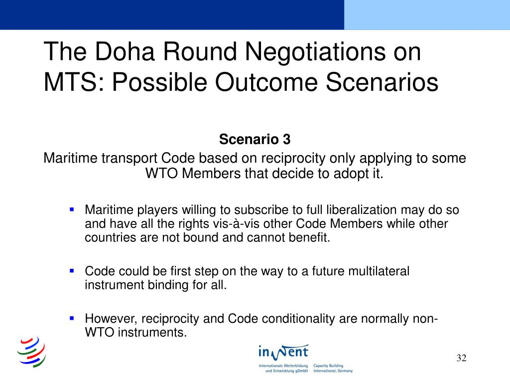 The Doha Round Negotiations on MTS: Possible Outcome Scenarios