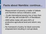 facts about namibia continue