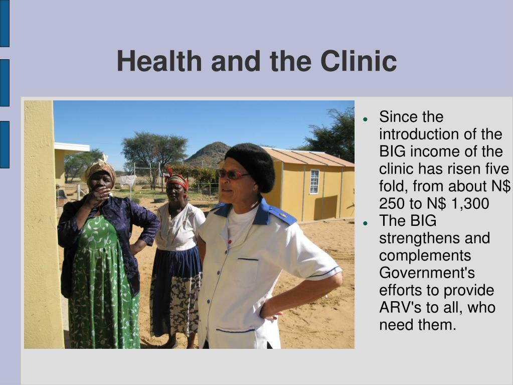 Health and the Clinic