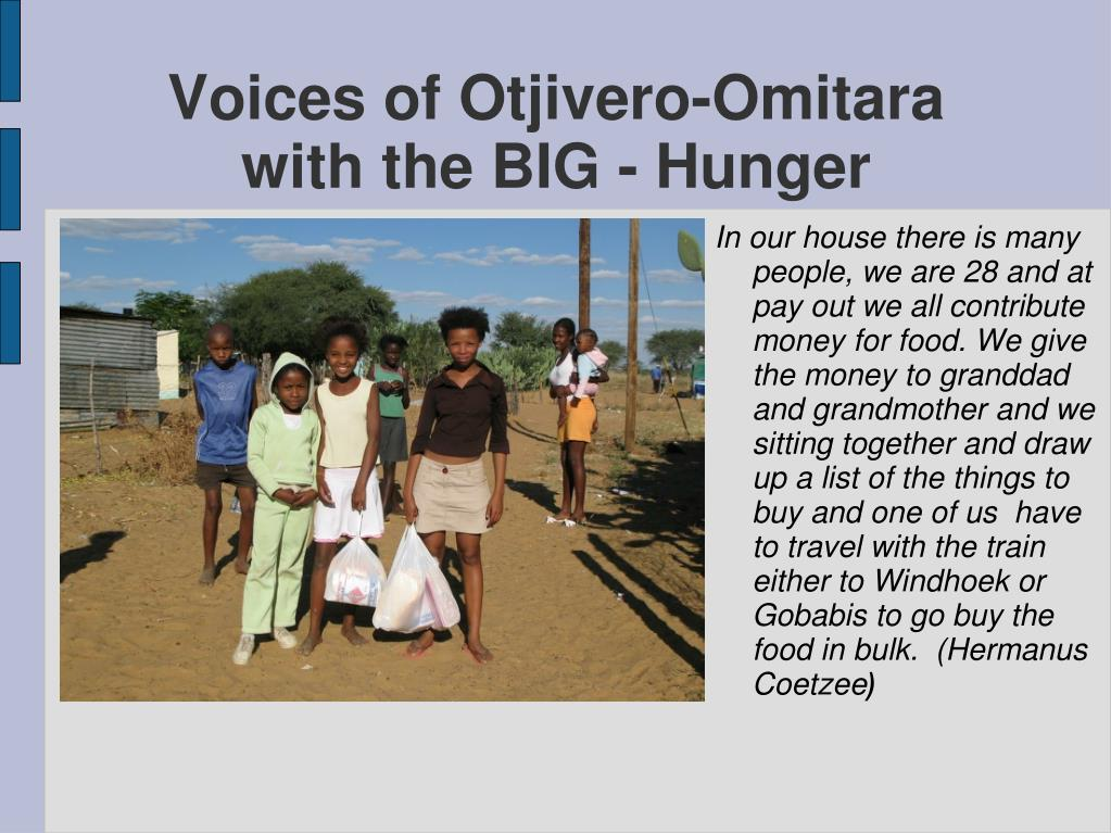 Voices of Otjivero-Omitara