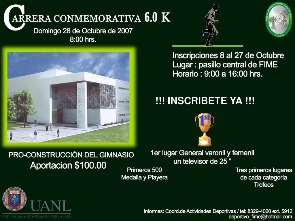 !!! INSCRIBETE YA !!!