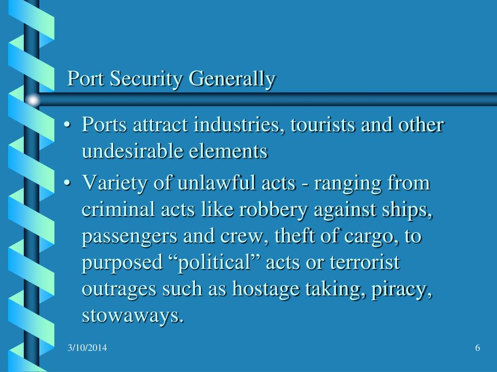 Port Security Generally