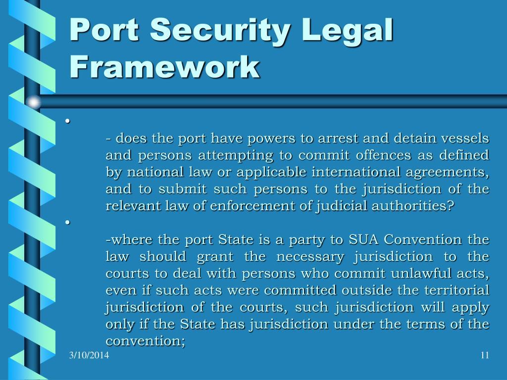 Port Security Legal Framework