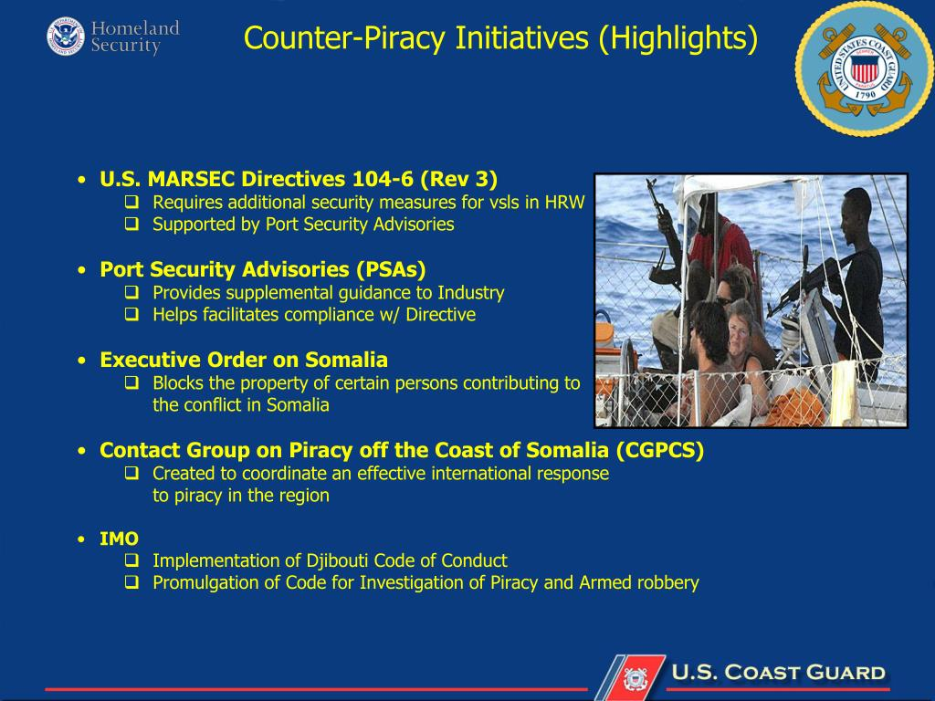 Counter-Piracy Initiatives (Highlights)