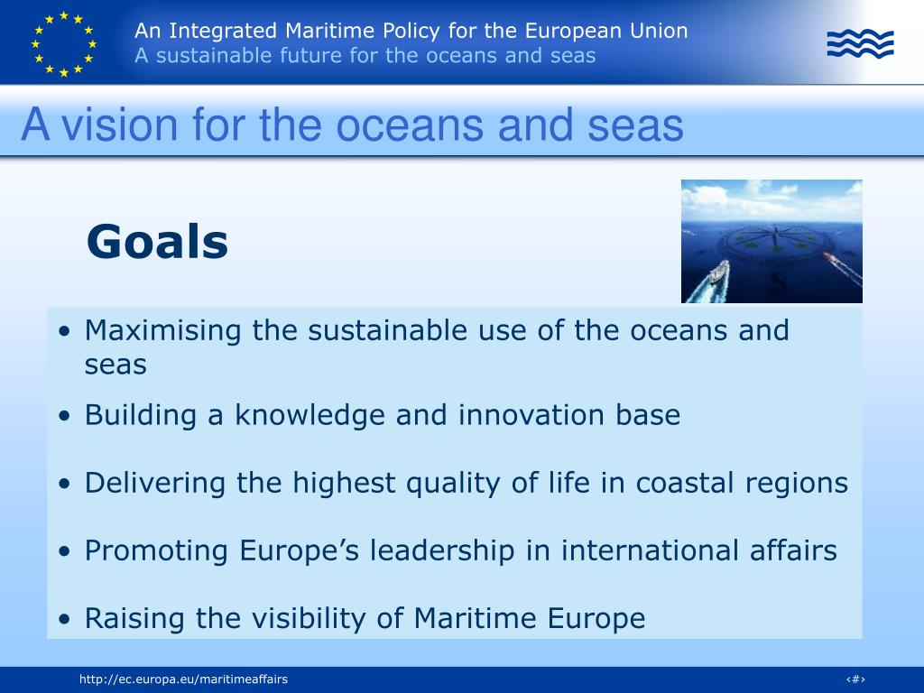 A vision for the oceans and seas