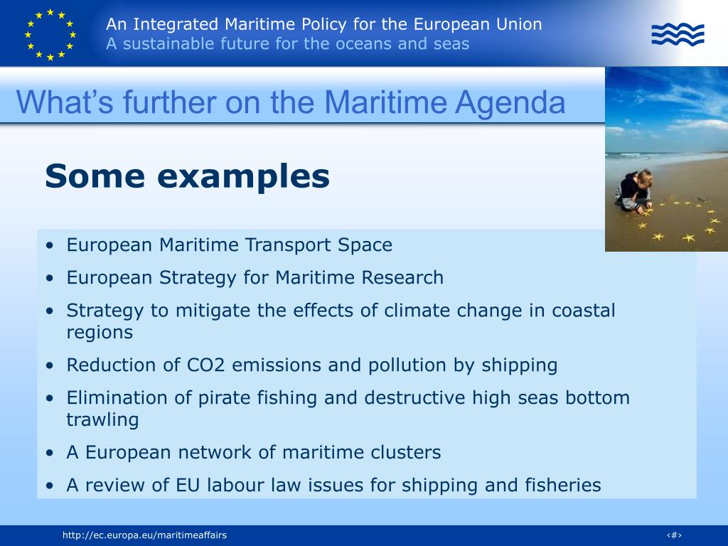 What's further on the Maritime Agenda