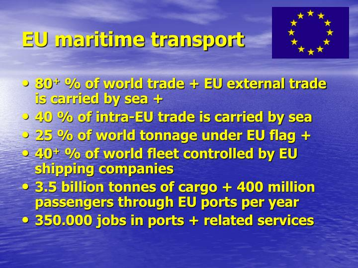 Eu maritime transport