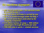 eu maritime transport