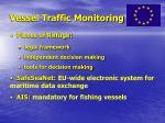 vessel traffic monitoring