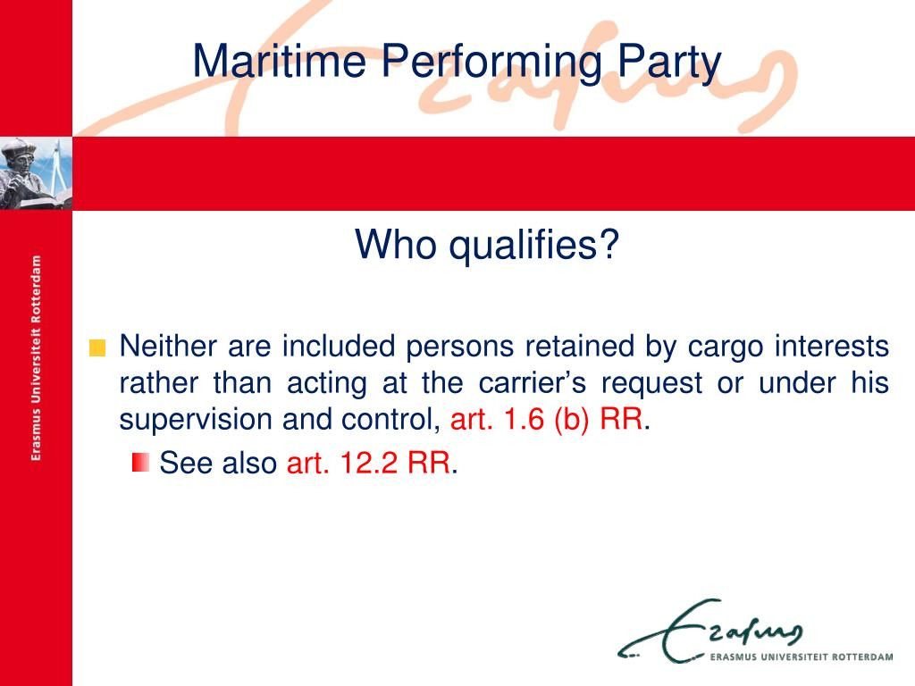 Maritime Performing Party