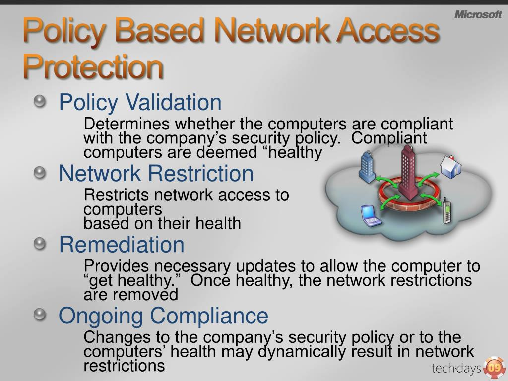 Policy Based Network Access Protection