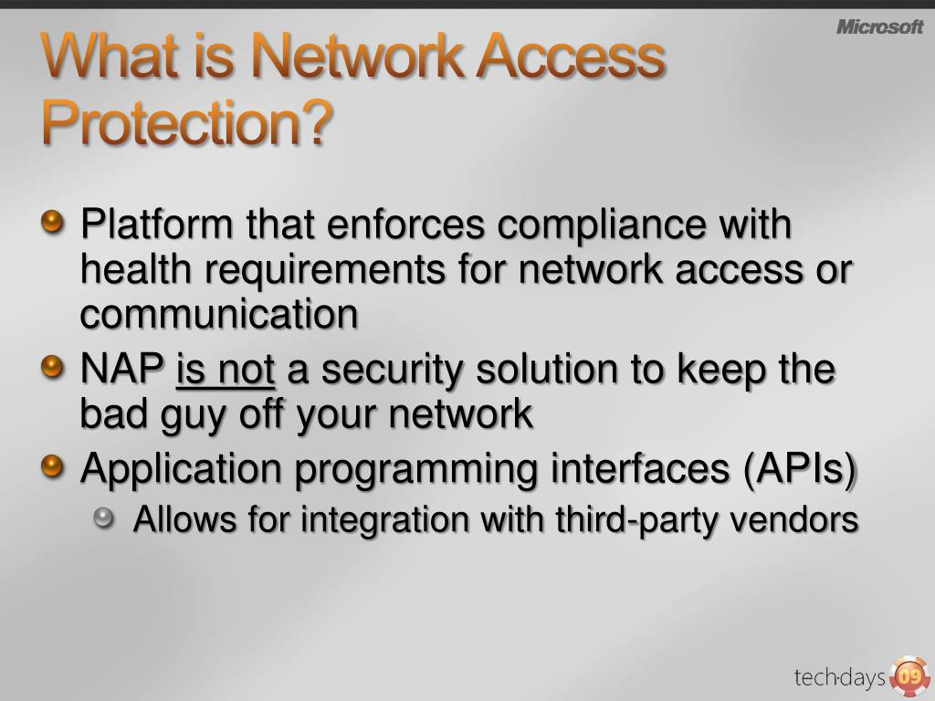 What is Network Access Protection?