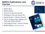bimco publications and courses