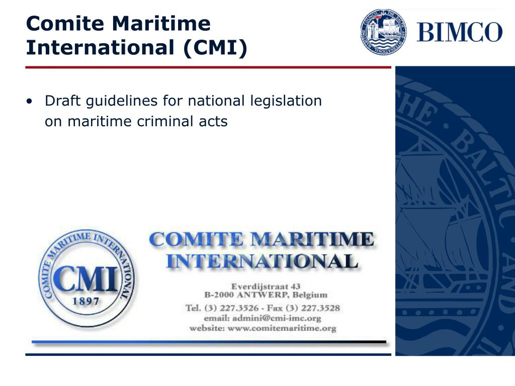 Comite Maritime International (CMI)