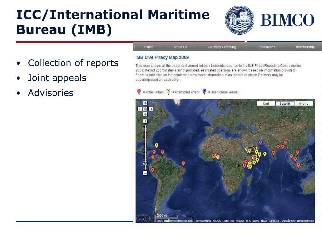 ICC/International Maritime Bureau (IMB)