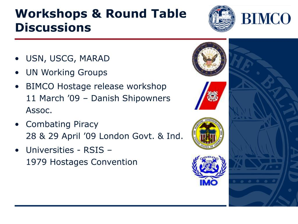 Workshops & Round Table Discussions