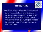 secure area7