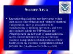 secure area9