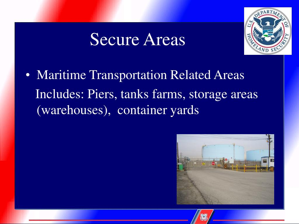 Secure Areas