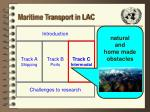 maritime transport in lac21
