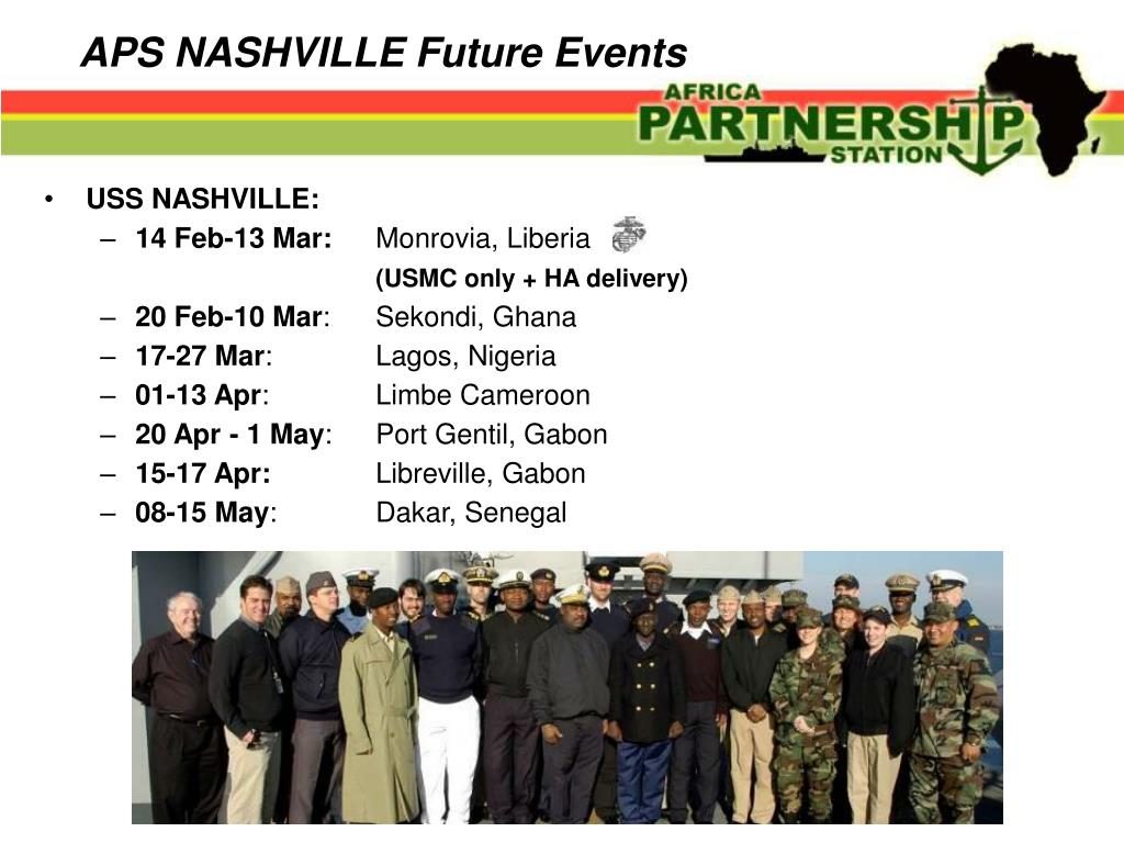 APS NASHVILLE Future Events