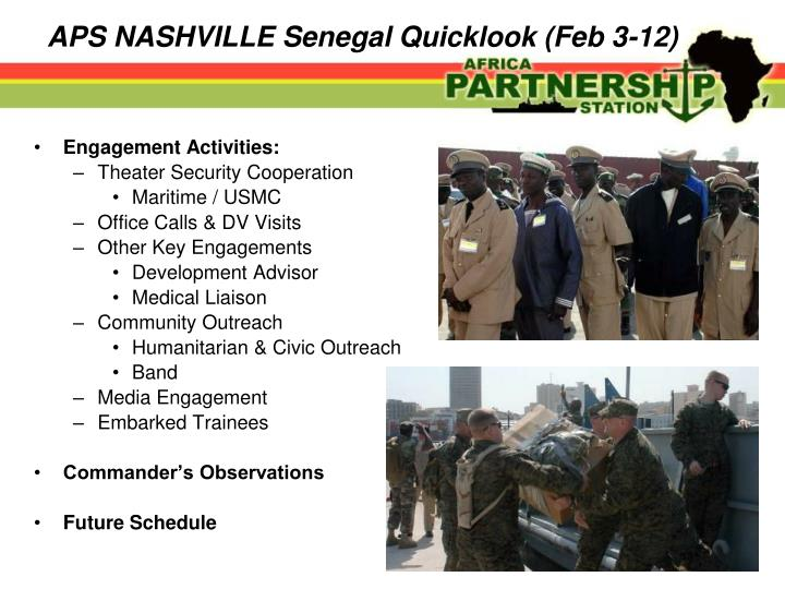 Aps nashville senegal quicklook feb 3 12