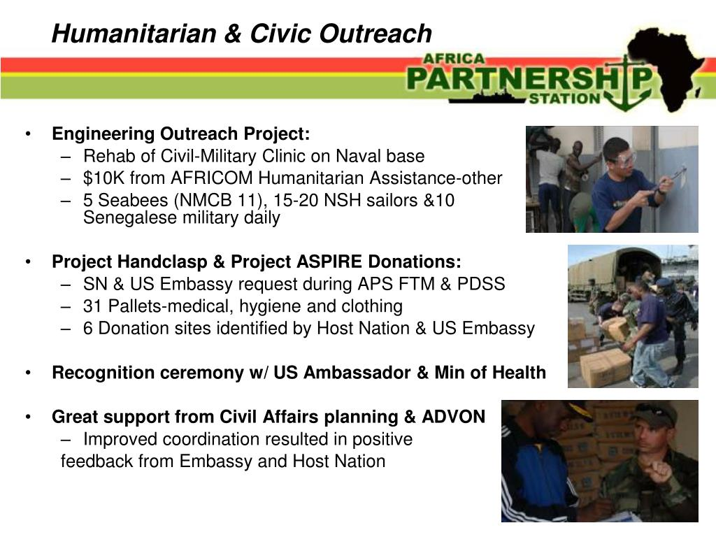 Humanitarian & Civic Outreach