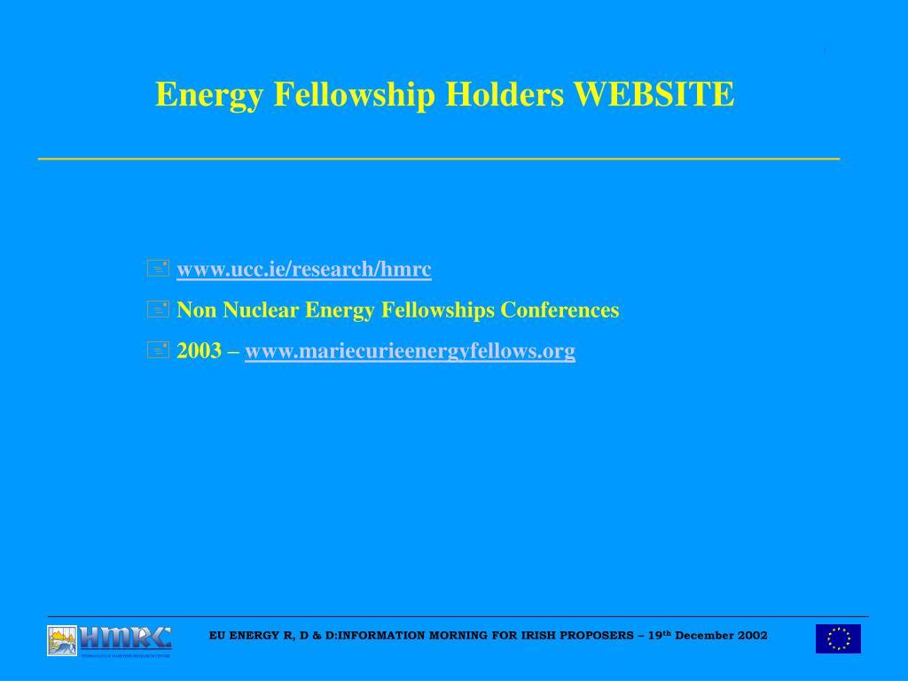 EU ENERGY R