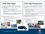 ems ship supply