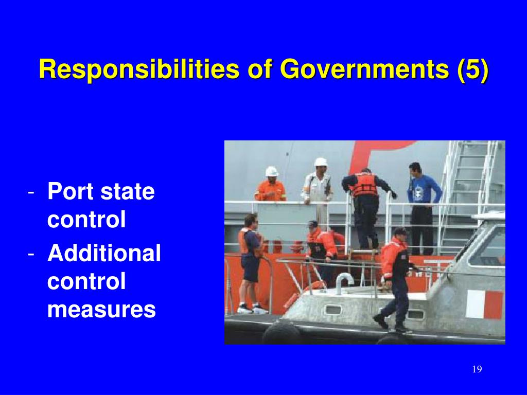 Responsibilities of Governments (5)