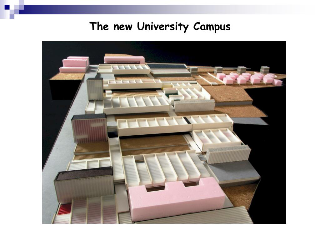 The new University Campus