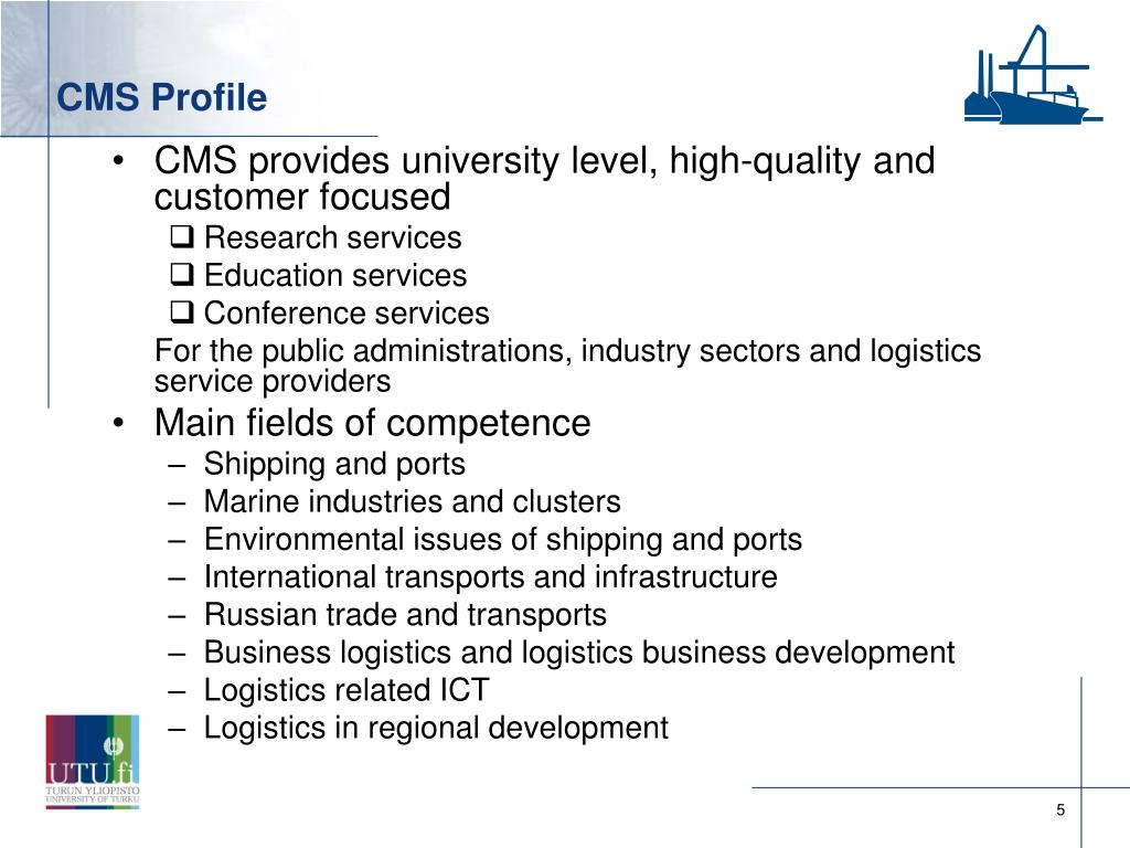 CMS Profile